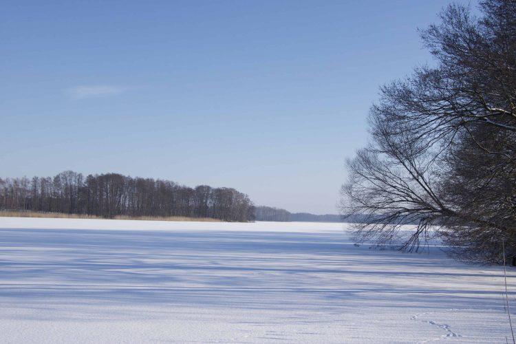 Plaetlinsee Wustrow Winter